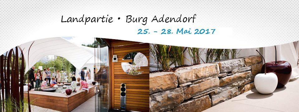 Landpartie 2017 – 25-28. Mai – Burg Adendorf