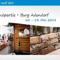 Landpartie 2018 – 10-13. Mai – Burg Adendorf
