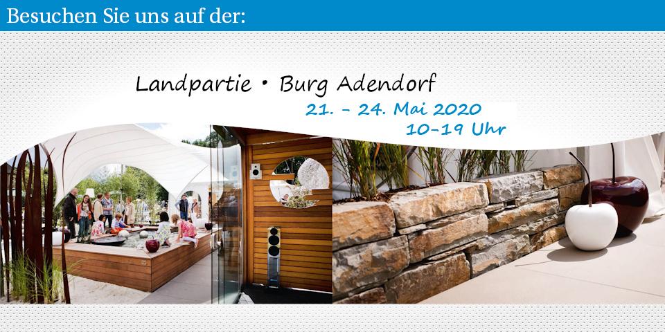 Landpartie 2020 – 21-24. Mai – Burg Adendorf